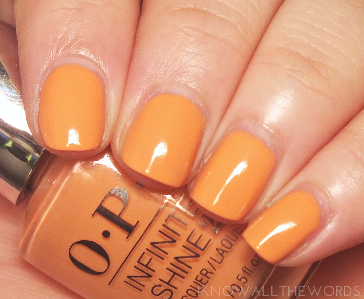 OPI Infinite Shine Sunrise to Sunset