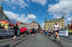 Na trať Brněnského půlmaratonu se vydají dva tisíce běžců