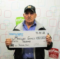 Marcelino Gomez (Burley, ID) - $50,000 Treasure Hunt