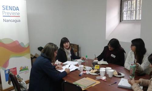1° Reunión Comunal de la Mesa de Tratamiento