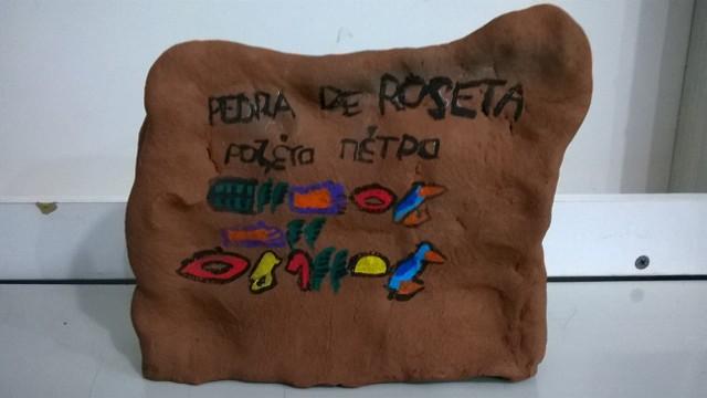 Pedra de Roseta - 6º ano/2016