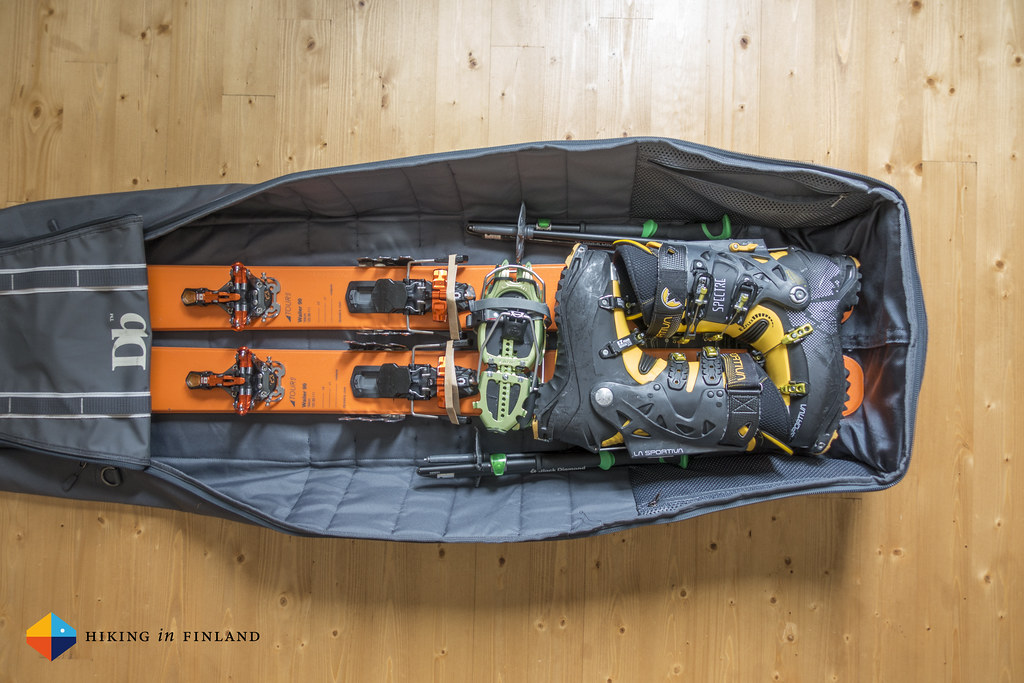 how to pack douchebag ski