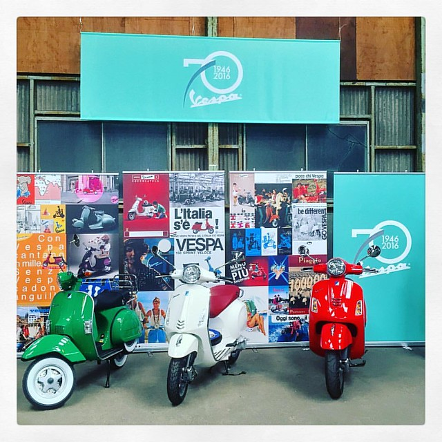 Vespa 70th Birthday Celebration Meeting – Fabbrica 1946 -