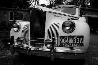 Front grill, 1941 Packard