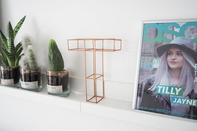 oliver bonas copper letter