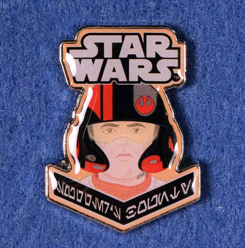 Star Wars Resistance Pilot pin (Smuggler's Bounty exclusive)