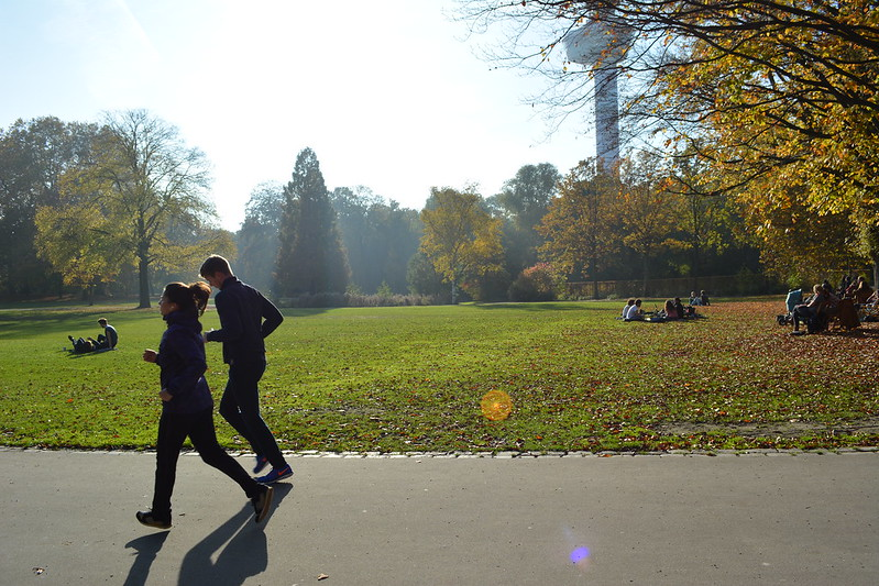 Het Park joggen