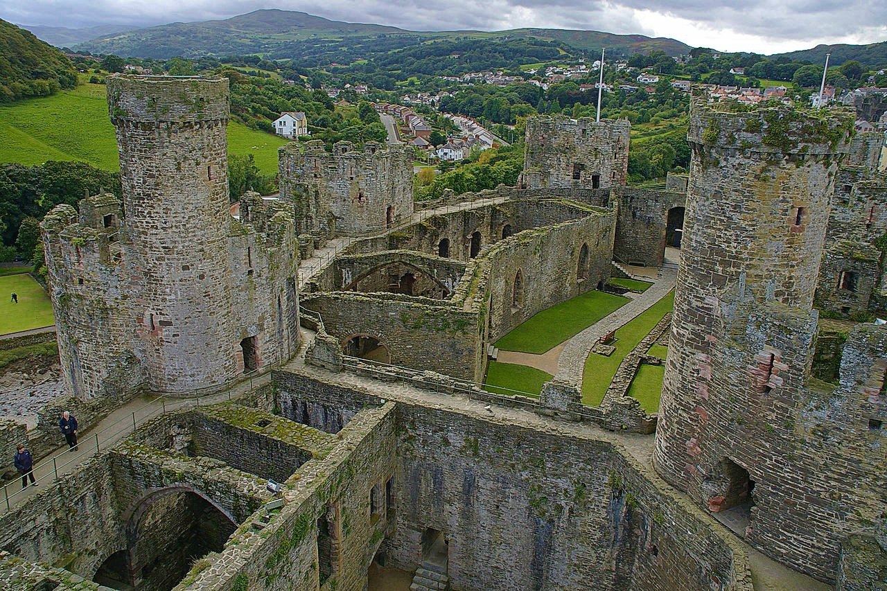 Conwy Castle. Credit mattbuck