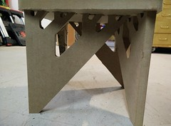 Binary tree foot stool