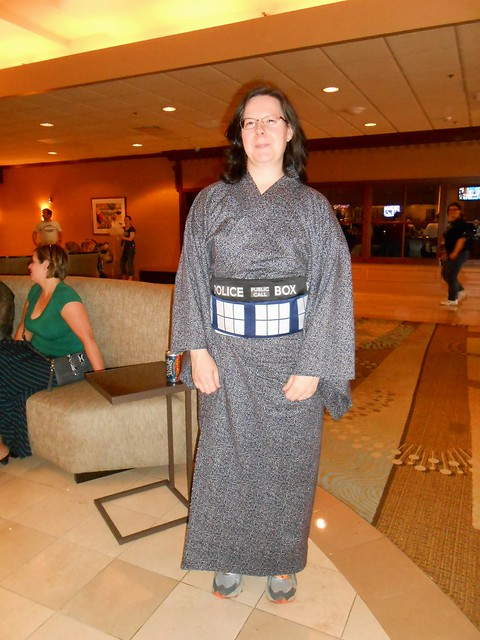 TARDIS Kimono 1