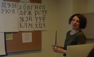 TypeCon 2015: Cyrillic for Real workshop with Alexandra Korolkova