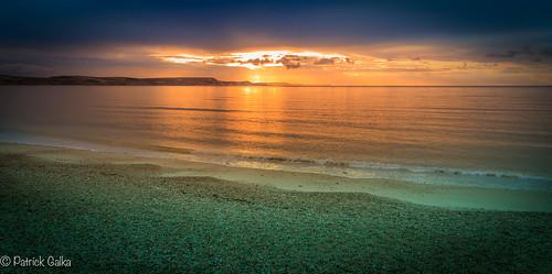 england sunrise landscape unitedkingdom gb weymouth