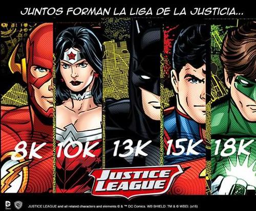 Carreras Liga de la Justicia