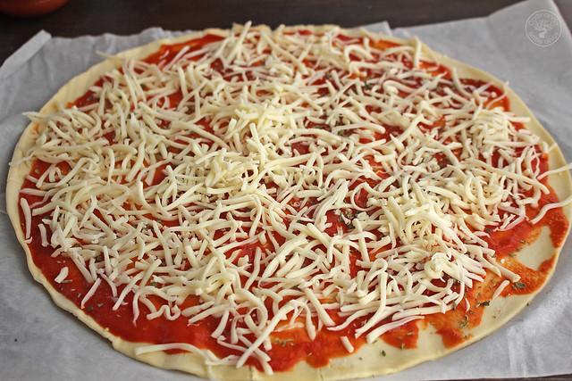 Pizza Sol de hojaldre www.cocinandoentreolivos.com (8)