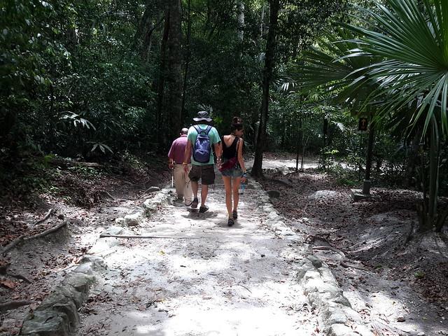 Acabant la visita al Tikal.