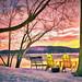 Snowy Susquehanna Morning by starrienight