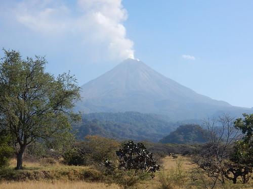 Mexico - Volcan el Fuego - 1