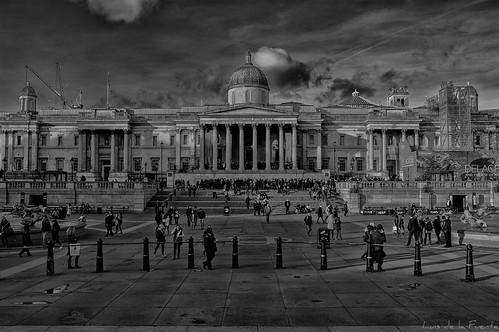 Trafalgar square lives / Vida en Trafalgar