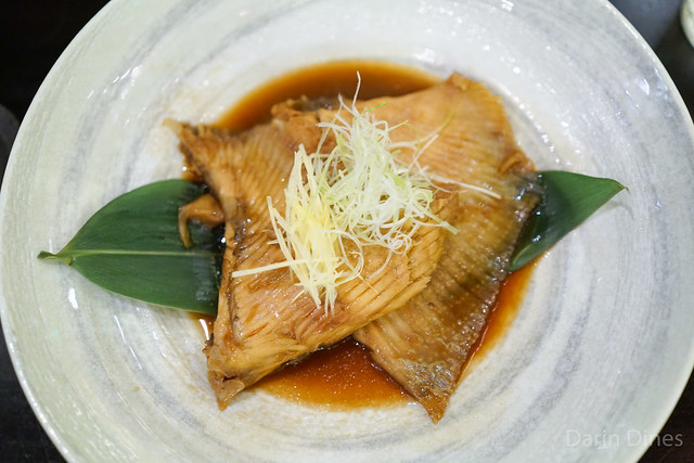 Dashi-Simmered Skate Wing