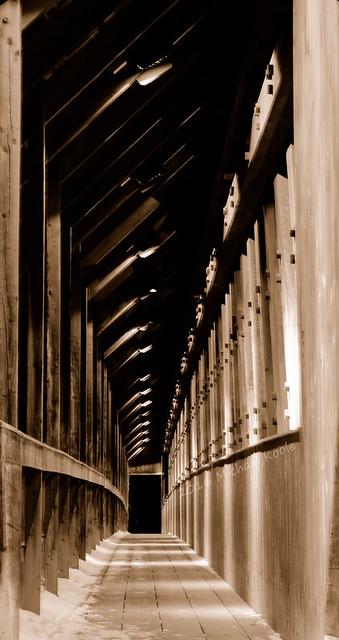 Visions Past - Frankenmuth Covered Bridge
