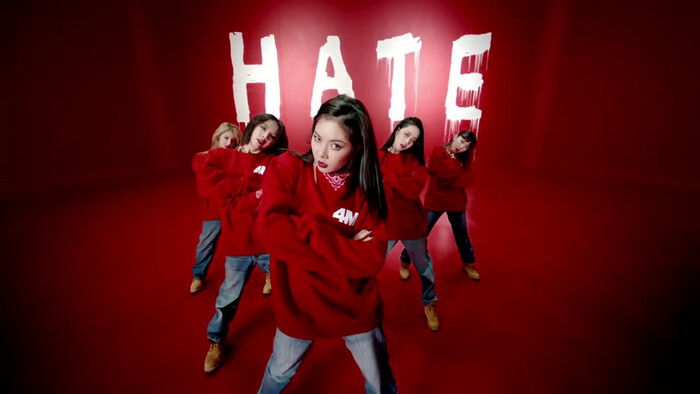 4minute, Hate, amadurecimento musical e crescimento pessoal