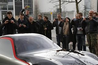 Opel GT Concept: Verladung