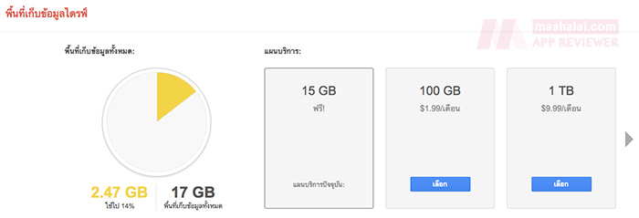 Google Drive free add space