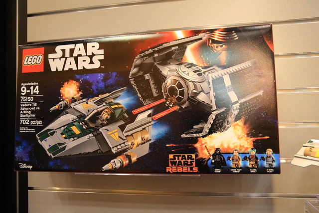 LEGO Star Wars 75150 Darth Vader's TIE Advanced and A-wing Fighter 1