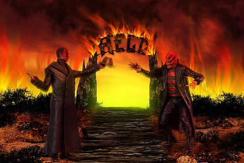 Cadyman vs Freddy in Hell