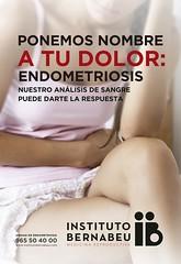 Ponemos nombre a tu dolor: Endometriosis. Nuestro análisis de sangre puede darte la respuesta.