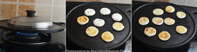 Coin Oothappam,Chutney,Sambar,Orange Juice - Step2