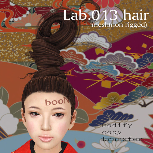 booN Lab.013 hair