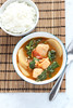 Salmon and miso sinigang