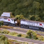 These might be my favorite jamesk5531 weathered engines running through NCDaveD's Breakneck Mountain
