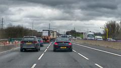 Roadworks M1 Motorway. dans actualitas fr 25416536633_3486ae42d1_m