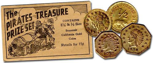 Pirates Treasure California Gold set