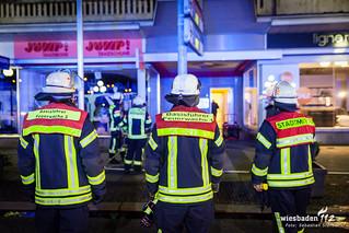 Feuer im Kleiderschrank Wilhelmstr. 07.03.15
