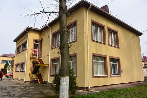 Будинок дитини на вулиці Поповича
