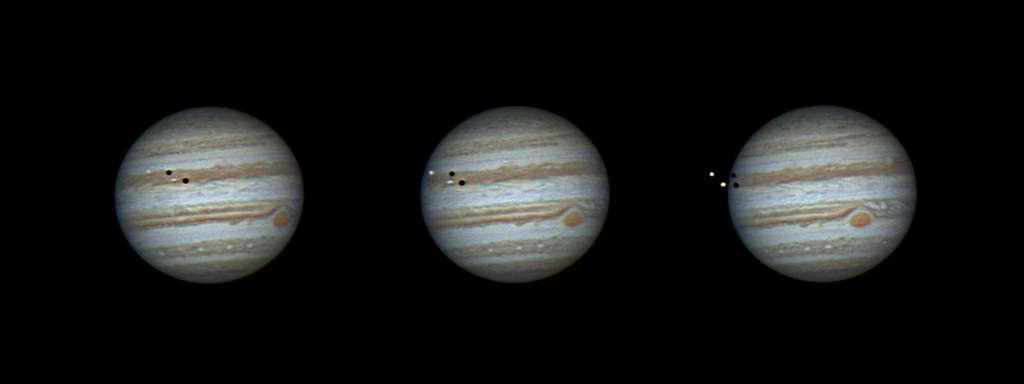 Jupiter Multi-transit Event March 14 2016