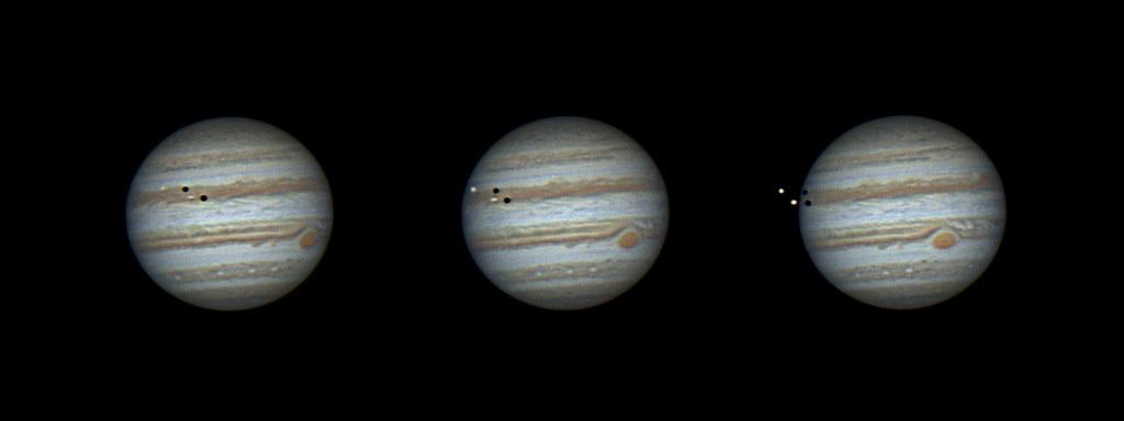 Jupiter Multi-transit Event March 14 2016