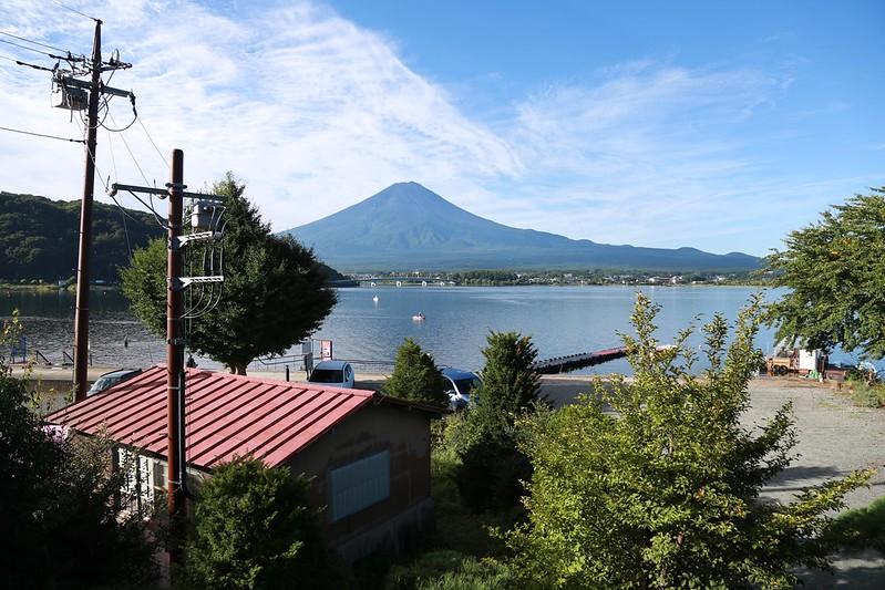 富士山露出全貌