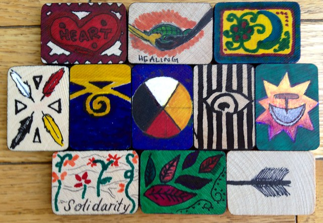 Tiles from Dr. Marie Wilson's class, McGill University.