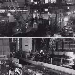 渋谷駅の工事、すごい