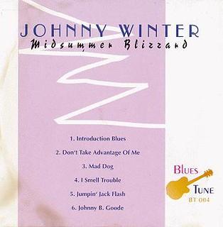 Johnny Winter - Midsummer Blizzard