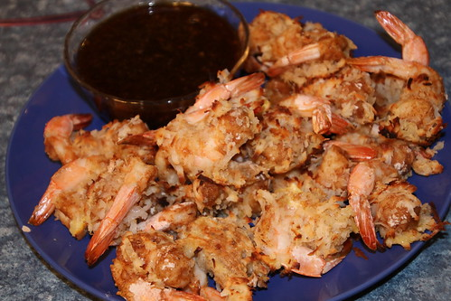 Coconut Shrimp with Apricot Sauce