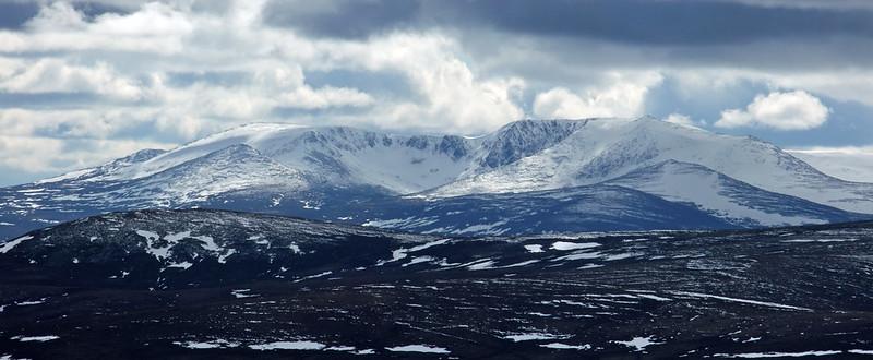 Lochnagar from Beinn a' Chruinnich
