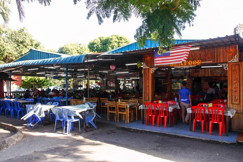 Satay Sri Melaka Food Court Lembah Keramat