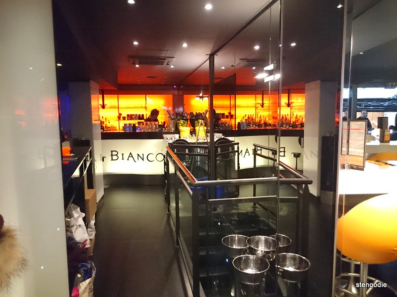 Showing the inside of Bianco Pizzeria restaurant