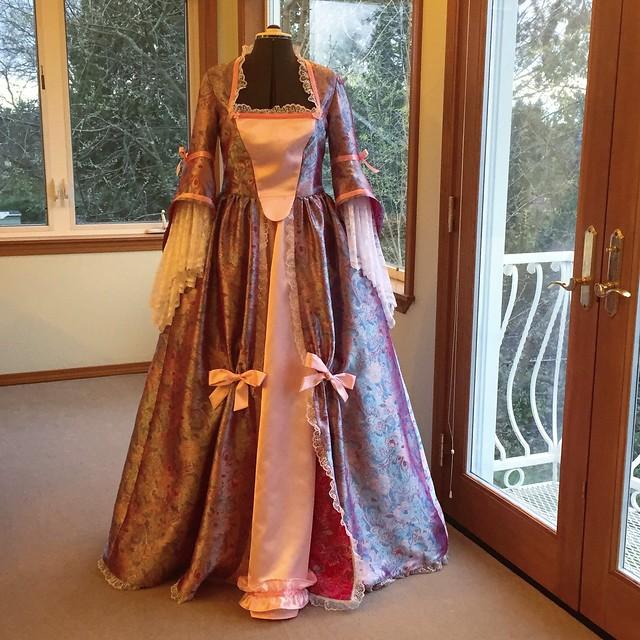 Marie Antoinette style dress
