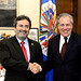 Secretary General Meets with Spokesman of MACCIH, Juan Jimenez